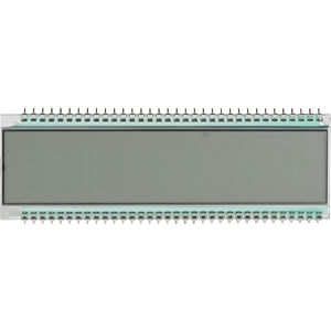 LCD-7-Segment, 1x8, H:6,0mm DISPLAY ELEKTRONIK DE 125-RS-20/7,5