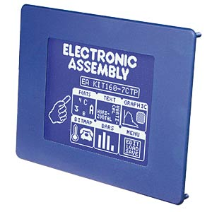Grafisches Display, CFL Beleuchtung, ELECTRONIC ASSEMBLY EA KIT160-7CTK