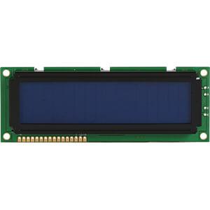 LCD-Modul, 2x16, H:9,6mm, bl/ws, m.Bel. DISPLAY ELEKTRONIK DEM 16215 SBH-PW-N