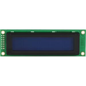 LCD-Modul, 2x20, H:5,6mm, bl/ws, m.Bel. DISPLAY ELEKTRONIK DEM 20231 SBH-PW-N
