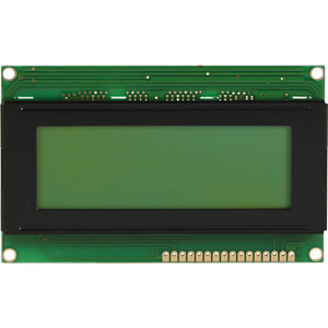 LCD-Modul, 4x20, H:4,8mm, ge/gn, m.Bel. DISPLAY ELEKTRONIK DEM 20485 SYH-LY