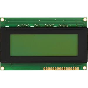 LCD-Modul, 4x20, H:4,8mm, ge/gn, m.Bel. DISPLAY ELEKTRONIK DEM 20485 SYH-LY-CYR22