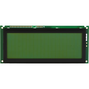 LCD-Modul, 4x20, H:9,2mm, ge/gn, m.Bel. DISPLAY ELEKTRONIK DEM 20487 SYH-LY