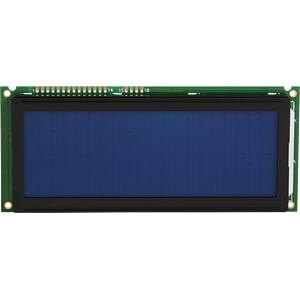 LCD-Modul, 4x20, H:9,2mm, bl/ws, m.Bel. DISPLAY ELEKTRONIK DEM 20487 SBH-PW-N