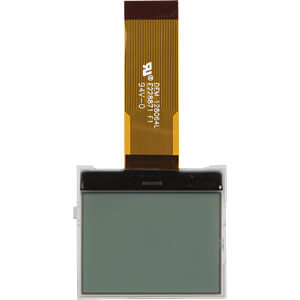 LCD-Grafikdisplay, 128x64 Pixel, sw/ws, m.Bel. DISPLAY ELEKTRONIK DEM 128064L FGH-PW