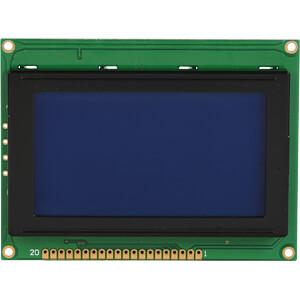 LCD-Grafikdisplay, 128x64 Pixel, bl/ws, m.Bel. DISPLAY ELEKTRONIK DEM 128064A SBH-PW-N
