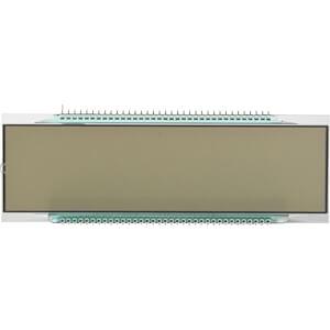 LCD-7-Segment, 1x6, H:25,4mm DISPLAY ELEKTRONIK DE 156-TU-30/7,5