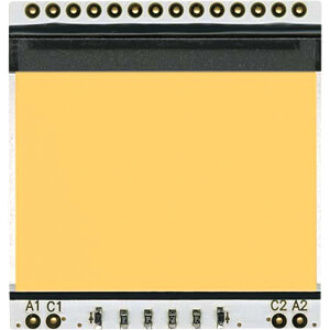 LED-Beleuchtung für EA DOGS102-6, 36 x 26 mm, amber ELECTRONIC ASSEMBLY EA LED39X41-A