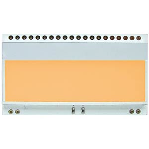 LED lighting for EA DOGL..Colour: amber ELECTRONIC ASSEMBLY EA LED68X51-A