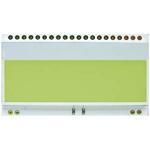 LED lighting for EA DOGM..Colour: yellow/green ELECTRONIC ASSEMBLY EA LED55X31-G