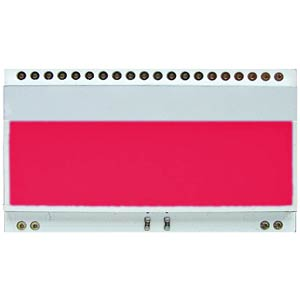 LED lighting for EA DOGM..Colour: red ELECTRONIC ASSEMBLY EA LED55X31-R