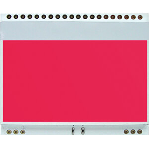 Led-Beleuchtung für EA DOGM..Farbe: rot ELECTRONIC ASSEMBLY EA LED55X46-R