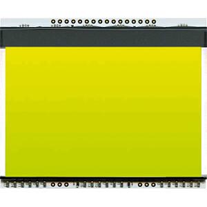 LED-Beleuchtung für EA DOGXL160-7, 73 x 47 mm, gelb / grün ELECTRONIC ASSEMBLY EA LED78X64-G