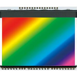 LED-Beleuchtung für EA DOGXL160-7, 73 x 47 mm, RGB ELECTRONIC ASSEMBLY EA LED78X64-RGB