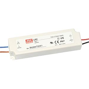 Switching power Supply for LED, 31 W/9 - 30 V/1050 mA MEANWELL LPC-35-1050