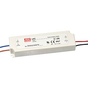 Switching power Supply for LED, 33W/9 - 24V/1400mA MEANWELL LPC-35-1400