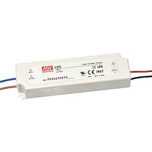 LED-Trafo, 33 W, 9 - 24 V DC, 1400 mA MEANWELL LPC-35-1400