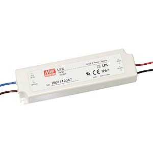 Schaltnetzteil für LED, 33W / 9-48V / 700mA MEANWELL LPC-35-700