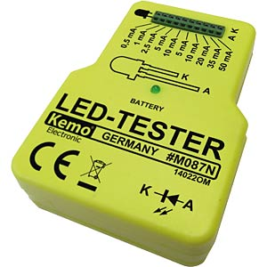 LED tester, module KEMO M087N