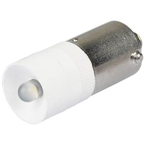 Reflektor-LED, BA9s, weiß, 12 V, 2500 mcd, Ø10 mm, 50° SIGNAL CONSTRUCT MEDB2562