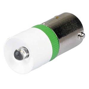 Reflektor-LED, Sockel BA9s, 230V AC, grün SIGNAL CONSTRUCT MEDB2578BR