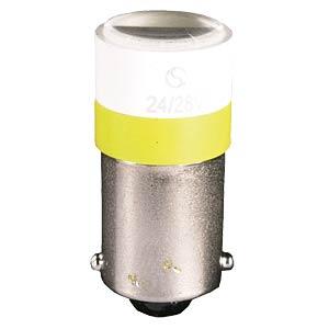 Spotlight LED on BA9s base , yellow, 24V SIGNETICS MELB 2214
