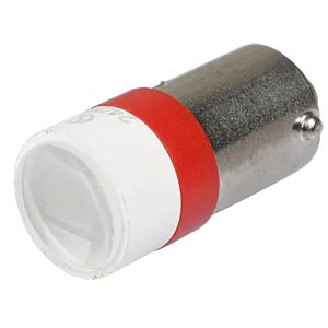 LED-Spot-Light, BA9s, rot, 24 V, 6500 mcd, Ø10 mm, 50° SIGNAL CONSTRUCT MELB2204