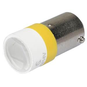 LED-Spot-Light, BA9s, gelb, 12 V, 3500 mcd, Ø10 mm, 50° SIGNAL CONSTRUCT MELB2212