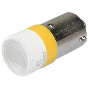 LED-Spot-Light, BA9s, gelb, 24 V, 3500 mcd, Ø10 mm, 50° SIGNAL CONSTRUCT MELB2214