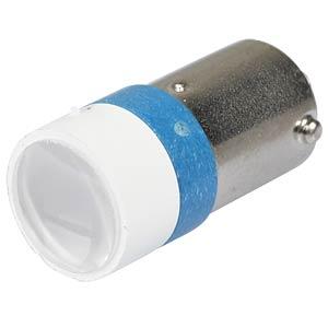 LED-Spot-Light, Sockel BA9s, 12V AC/DC, blau SIGNAL CONSTRUCT MELB2242