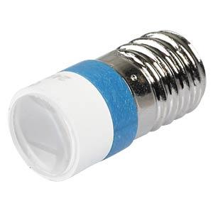 LED-Spot-Light, E10, blau, 24 V, 6000 mcd, Ø10 mm, 50° SIGNAL CONSTRUCT MELE2244