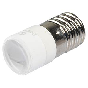 LED-Spot-Light, E10, weiß, 24 V, 12500 mcd, Ø10 mm, 50° SIGNAL CONSTRUCT MELE2264
