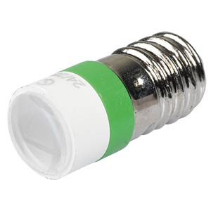 LED-Spot-Light, Sockel E10, 24V AC/DC, grün SIGNAL CONSTRUCT MELE2274