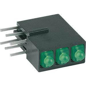 Traffic light LED module, Ø 2 mm, green MENTOR 19.058.880