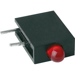LED-Baustein RTE, rot, Ø 3mm MENTOR RTE3106R