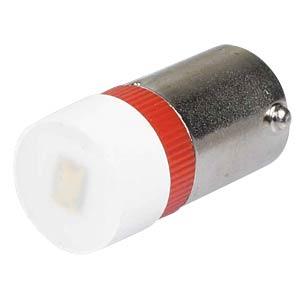 Reflektor-LED, BA9s, rot, 24 V, 220 mcd, Ø9,7 mm, 160° SIGNAL CONSTRUCT MWCB22049