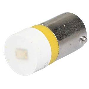 Reflektor-LED, BA9s, gelb, 12 V, 180 mcd, Ø9,7 mm, 160° SIGNAL CONSTRUCT MWCB22129