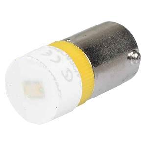 Reflektor-LED, Sockel BA9s, 24V AC/DC, gelb SIGNAL CONSTRUCT MWCB22149