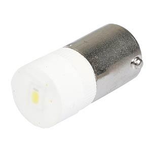 Reflektor-LED, Sockel BA9s, 12V AC/DC, weiß SIGNAL CONSTRUCT MWCB22629
