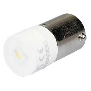 Reflektor-LED, BA9s, weiß, 24 V, 1250 mcd, Ø9,7 mm, 160° SIGNAL CONSTRUCT MWCB22649