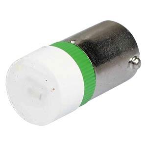 Reflektor-LED, Sockel BA9s, 24V AC/DC, grün SIGNAL CONSTRUCT MWCB22749