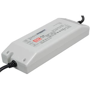Switching power supply for LED, class 2, PFC, 60 W, 12 V/5 A MEANWELL PLN-100-12