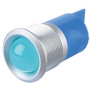 Signalleuchten LED, 220V AC, 22mm, FASTON, bl/SG APEM Q22P1GXXB220E