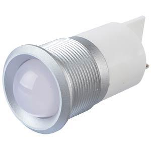 Signalleuchten LED, 220V AC, 22mm, FASTON, ws/SG APEM Q22P1GXXW220E
