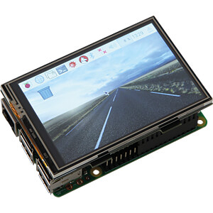 Raspberry Pi 3 - 3.5 (8,9 cm) Touch Display Set JOY-IT R3-DISPLAY-SET