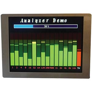 TFT-Display, 5,7 - 320x240 Pixel DISPLAY ELEKTRONIK DEM320240ITMH-PW-N (A-TOUCH)