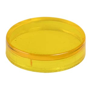 Reflektorabdeckkappe, glatt, gelb ALBS 881021