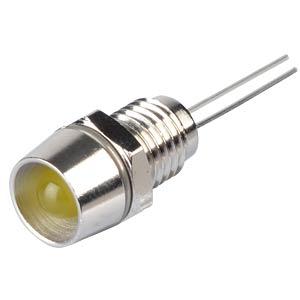 LED-Signallampen, 5V, bedrahtet, 8mm, gelb RND COMPONENTS RND 210-00014