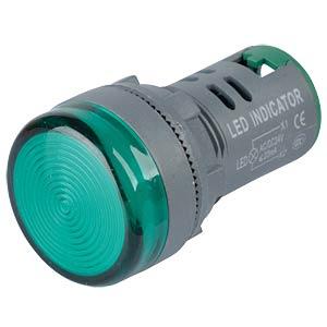 LED-Signallampen, 24V, srew, 21,5mm, grün RND COMPONENTS RND 210-00039