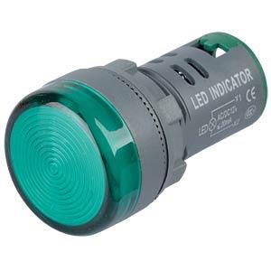 LED-Signallampen, 12V, srew, 21,5mm, grün RND COMPONENTS RND 210-00054